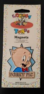 1993 Looney Tunes Magnet, PORKY PIG (New in Package) Warner Brothers 1990's
