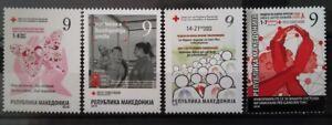 Macedonia 2018 Charity Stamps MNH