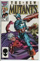 Marvel Comics The New Mutants #40 June 1986 VF-