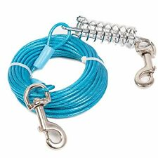 Favorite Tie Out Cable for Dogs, 30-feet, 7 X 7 X 3 inches, Blue