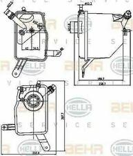 Kühler Tank 8MA376789-731 / Crt 205 000S Von Behr - Einzel