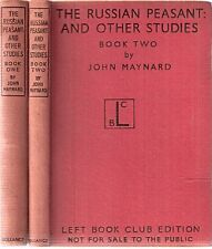 The Russian Peasant & Other Studies Bk 1&2 by J Maynard 1st 1942 Left Book Club