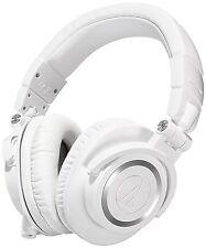 Audio Technica ATH-M50XWH Professional Monitor DJ Headphones White ATHM50X New