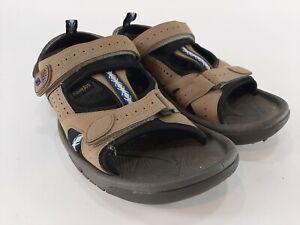 FootJoy FJ Golf Specialty Mens Golf Sandals 45318 Dark Taupe Sz 12