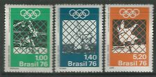 Brasil. 1976. Juegos Olímpicos de Montreal Set. SG: 1586/88. como Nuevo Nunca con Bisagras.