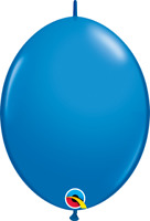 "QUICK LINK DARK BLUE BALLOON 12"" P50 QUALATEX BALLOONS PARTY SUPPLIES"