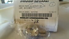 Bulb for WHELEN ENGINEERING 34-0070371-02, WA7079B-12 LAMP 12VOLTS 40WATTS