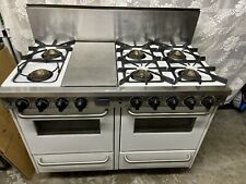 "Five Star Gas Range, 48"", Stainless Steel, 6-Burner, 2 Ovens, Wtn530-Gw"