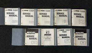 Mercury Service Manuals (Lot)