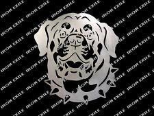 Rottweiler Metal Head Wall Art Sign Guard Dog Plasma Cut Gift Idea Usa Made
