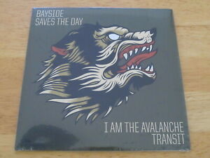 """SAVES THE DAY / BAYSIDE Tour 7"""" LIMITED VINYL rare SEALED"""