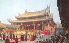 TAIPEI, TAIWAN, CHINA, 5 PC's, CEREMONY AT CONFUCIUS TEMPLE, c. 1960-70's