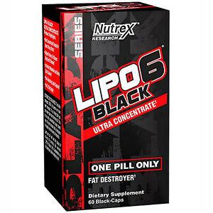 Nutrex Lipo 6 UC Black (60caps)  + FREE DELIVERY