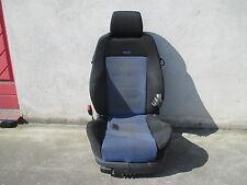 Recaro asiento del conductor asiento deportivo vw golf 4 sede equipamiento negro de tela azul