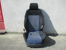 RECARO Fahrersitz Sportsitz VW Golf 4 Sitz Ausstattung schwarz blau Stoff