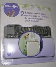 1 Pack of 2 Adjustable Nylon Furniture Secure Anchor Straps Babies R Us 1926117