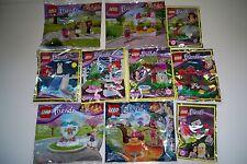Lego Friends, Figur, Polybag, Tier, 10 Stück, 30202, 30113, 30204, 30259**