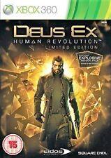 Deus Ex: Human Revolution (Microsoft Xbox 360, 2011) - European Version