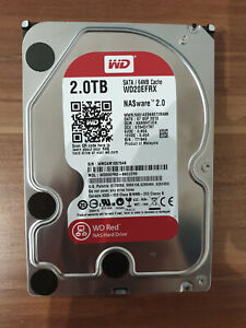 Western Digital Red Nas 2TB,Intern,5400RPM (WD20EFRX) NAS (Network Attached...