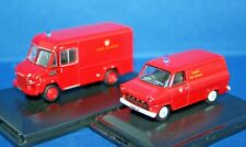 More details for london fire brigade commer & ford transit vans - 1/76 scale by oxford fire