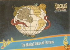 The Musical Hercules and Xena  M3 Across the Sea of Time insert trading card