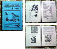 BEDIENANWEISUNG T174 T 174 FORTSCHRITT  T174 - 2 WEIMAR
