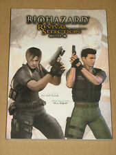 Resident evil Biohazard Revival Selection Artbook  Very Rare New