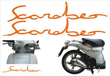 Adesivi Scarabeo arancione  -  adesivi/adhesives/stickers