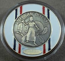 US Armed Forces American Defense Service Medal Challenge Coin