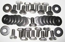 MGB Sump Fitting Kit - Stainless Steel