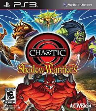 Chaotic: Shadow Warriors (Sony PlayStation 3 PS3 2009) Complete Brand New Sealed