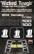 YAMAHA 1982 YZ100 WICKED TOUGH DECAL GRAPHIC KIT