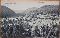 1914 Postcard: Friedrichroda- Gotha, Thuringia, Germany