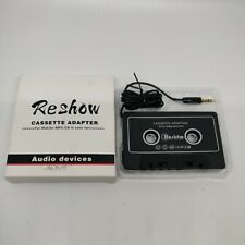 Car Audio Aux Cassette Adapter for Mp3 Player, iPod, Phone, Etc.