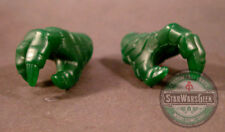 MUC046 custom Rattlor Hands green sculpt cast for use with Mythic Legions MotUC