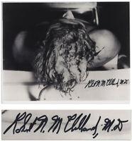 Dr. Robert McClelland Signed Photo of John F. Kennedy