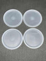 TUPPERWARE G Seals For Bell & 16 oz TUMBLERS 4 Replacement Lid/Seals 297 VTG Lot