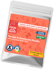 Food Supplies: Lightweight Dehydrated Pouch Meal - Tomato & Sweetcorn Risotto