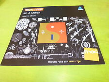 BON IVER - 22, A MILLION!!!! !PLV 30X30 CM !!FRENCH RECORD STORE PROMO ADVERT