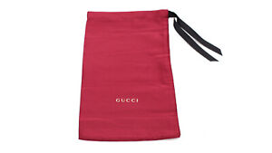 Gucci Maroon Dust Bag Carrying Pouch for Glasses Sunglasses or Small Accessories