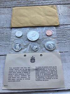 Canada 1966 Proof-Like Mint Set of Uncirculated Coin 1.1 oz Pure Silver