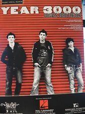 Year 3000 - Jonas Brothers - 2002 Original Sheet Music