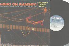 Ramsey Lewis Trio~ Hang On Ramsey~ LP '66 Jazz Cadet 761 mono-W Beatles Covers