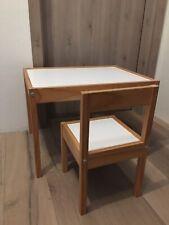 Kindertisch mit stuhl - Ikea Lätt
