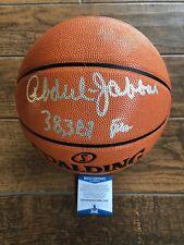 Lakers Kareem Abdul Jabbar Signed Autographed Basketball W/ Inscription BECKETT