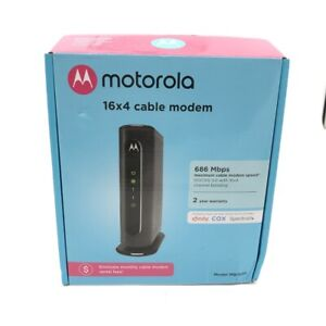 Motorola High Speed Cable Modem 686 Mbps DOCSIS 3.0 with 16x4 Channel Bonding