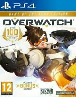 Overwatch Game Of The Year Edition PS4 Mint SAME DAY Dispatch 1st Class Delivery