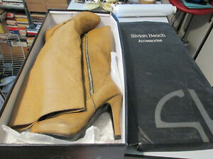 Women's Boots Silvian Heach 37 Camel Boots Caleb Worn Molto Little