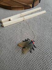 Vintage 1986 Karate Kid Chopsticks Fly Catch Toy Remco 6 Piece Action Set