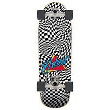"D Street Skateboards Check Warp Surf Skate 10.0"" x 32.0"""